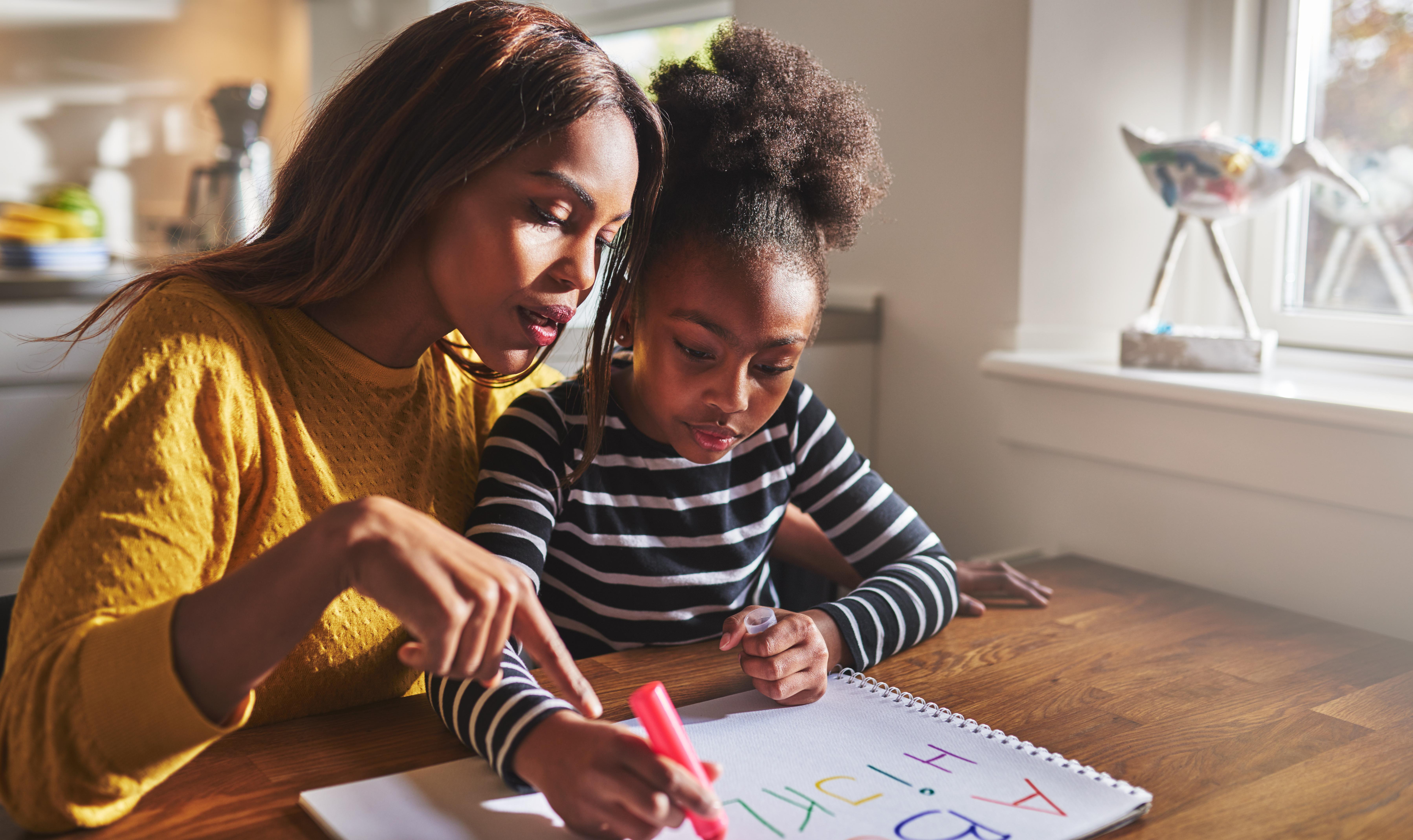 """Barn måste få tro på sig själva och med hjälp av omgivningen känna att """"ja, jag kan""""."""