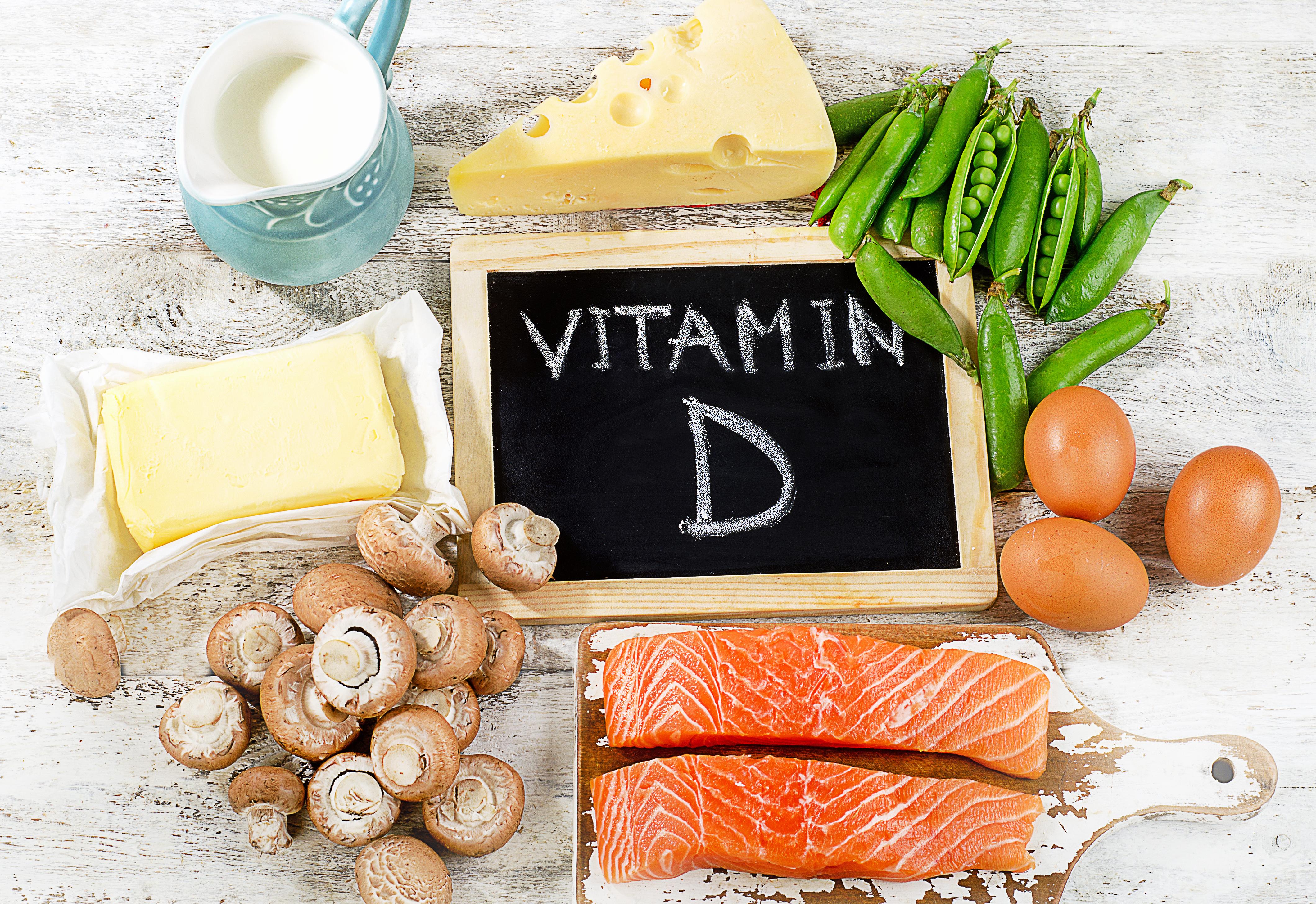 d vitamin livsmedel