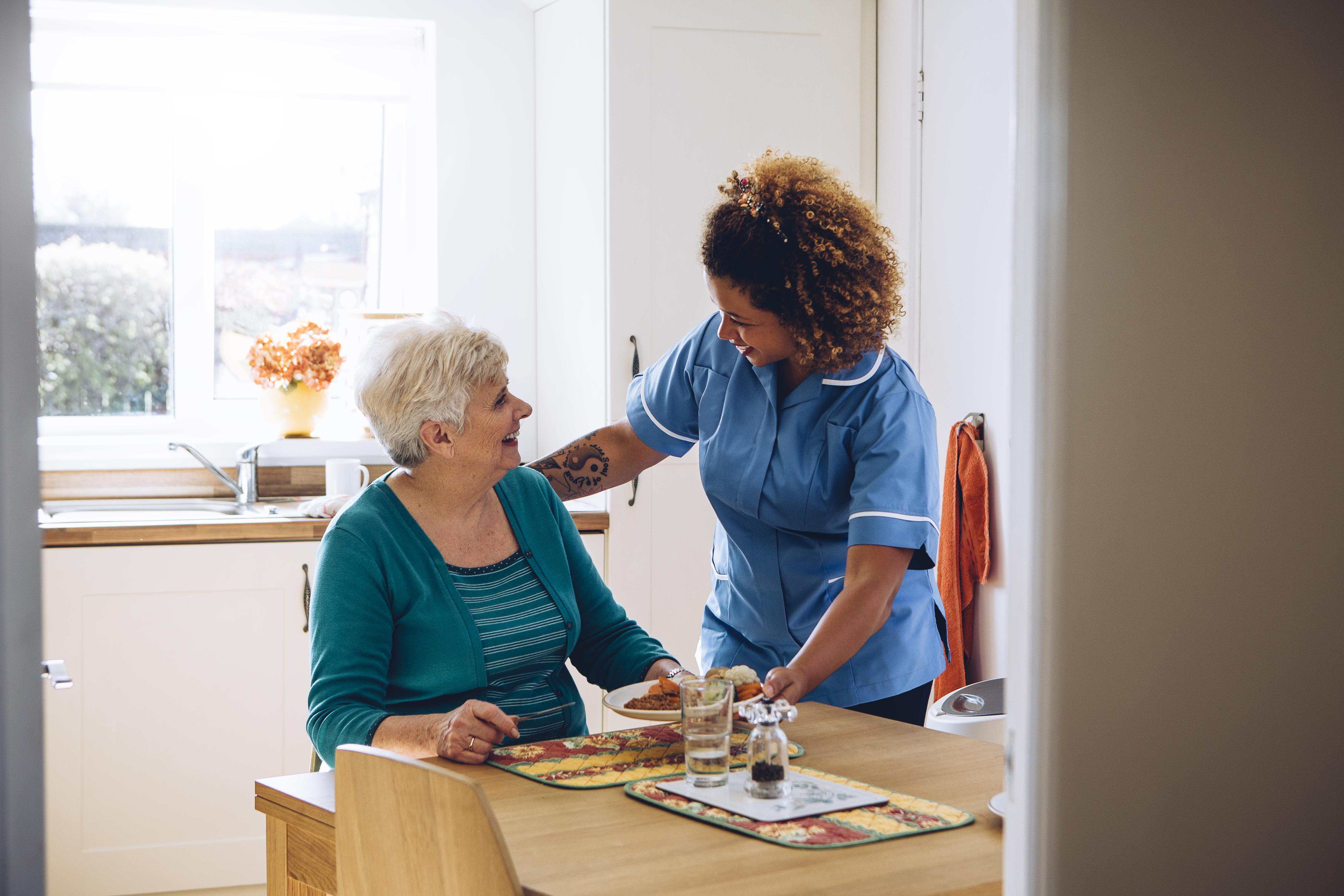 Ibland är det bara små medel som behövs för att minska lidandet och öka livskvaliteten hos demenssjuka.