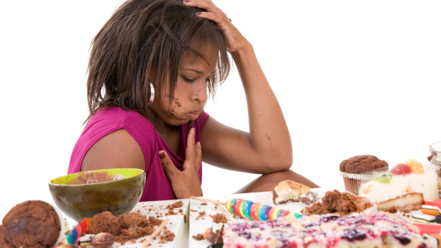 ångest efter mat