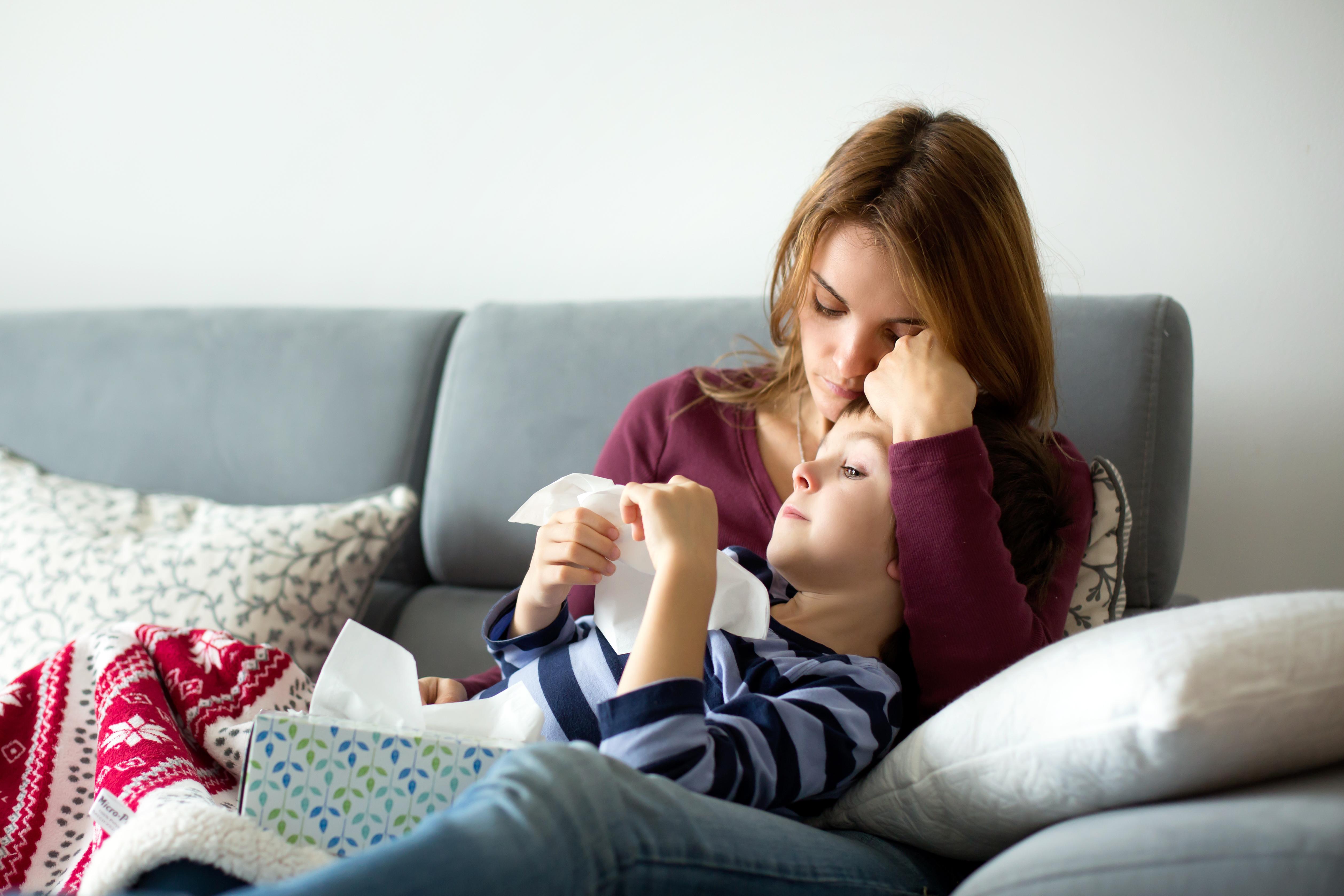 Det som präglat säsongen har varit att antalet sjuka barn under 5 år har varit överrepresenterade bland insjuknade jämfört med tidigare år.