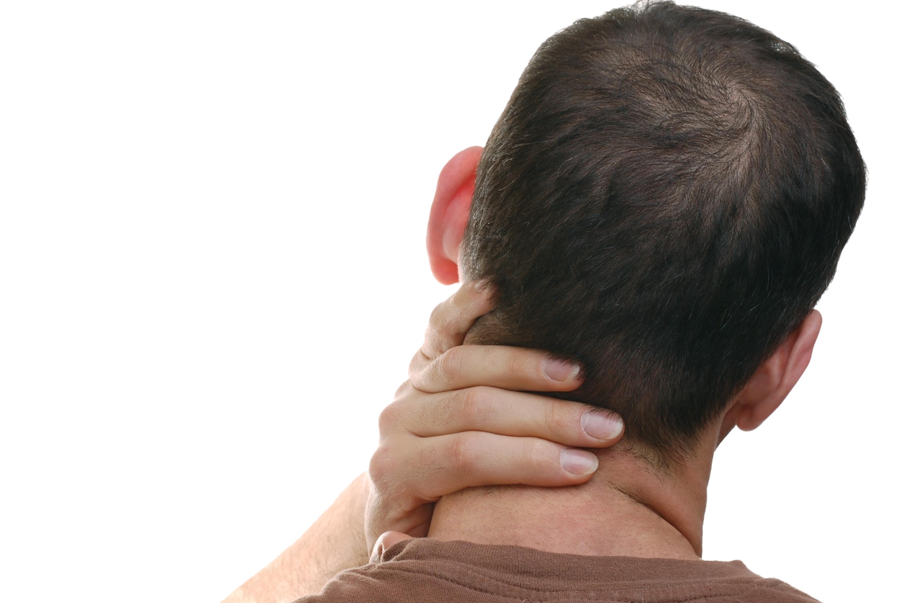 Nackspärr innebär att man får kramp i nackmusklerna och kan komma plötsligt.