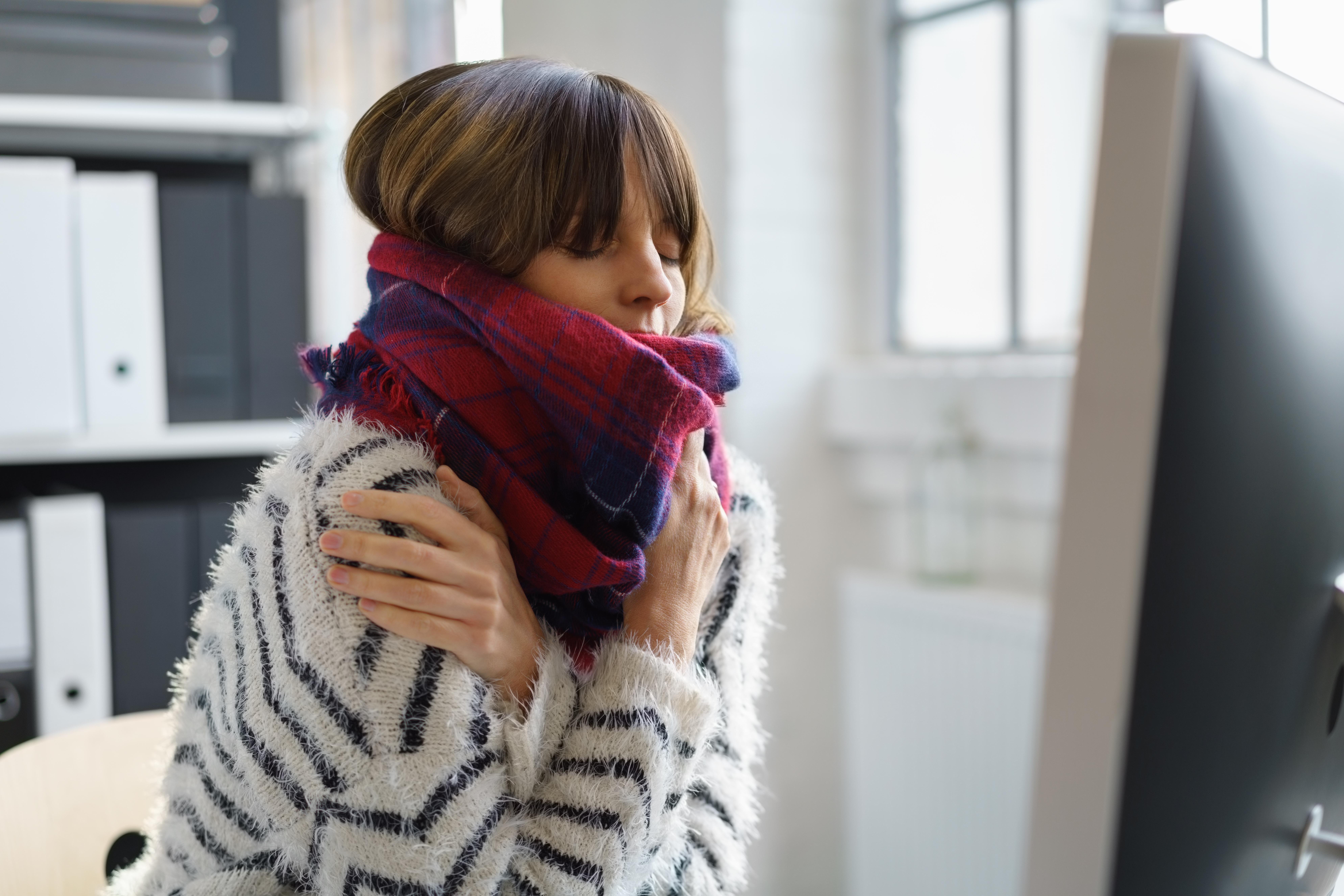 Studien visar att hela sju av tio har gått till jobbet sjuka någon gång det senaste året.