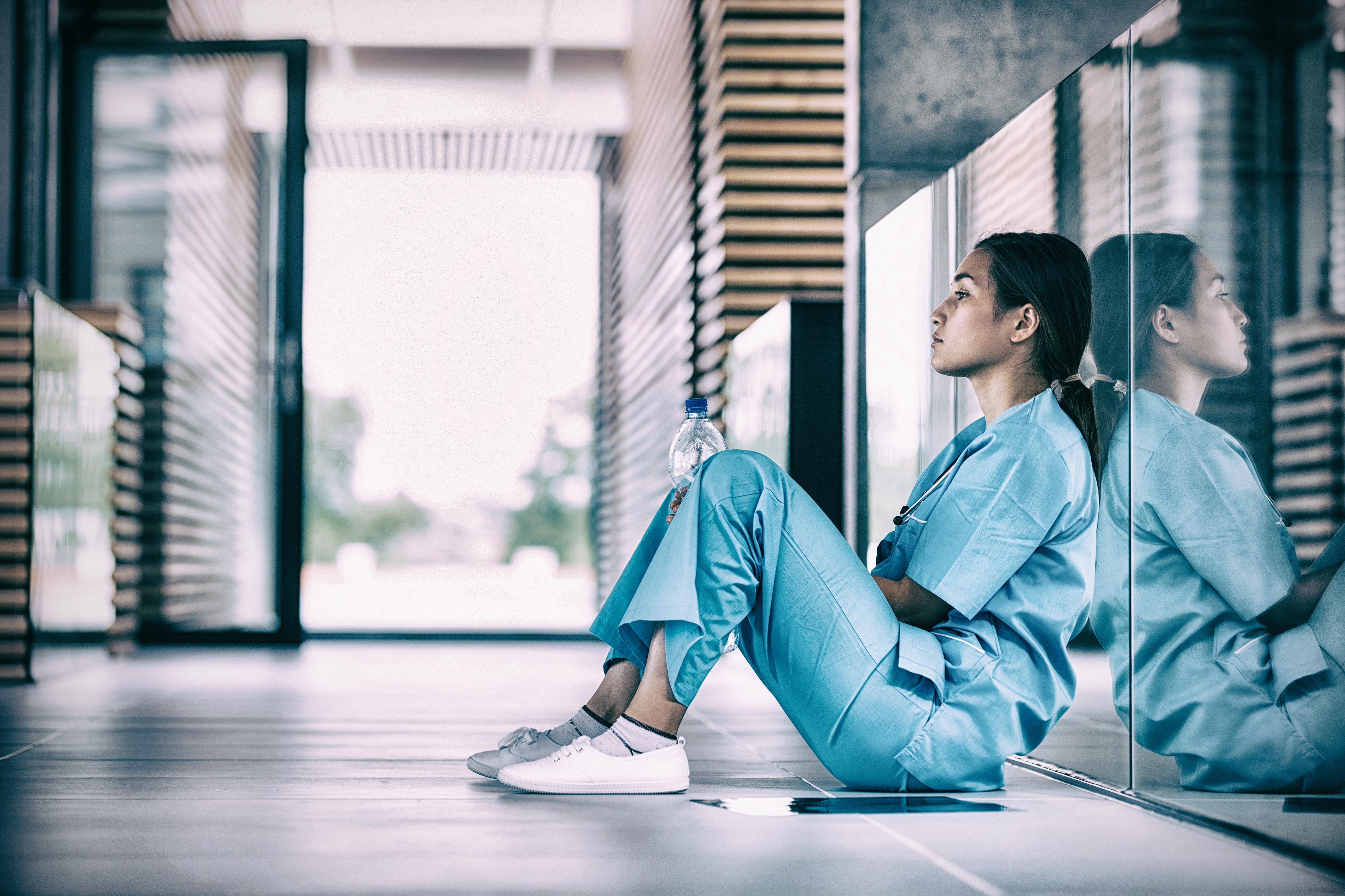 Hårdast drabbade av sjukskrivningar är anställda inom vård och omsorg.