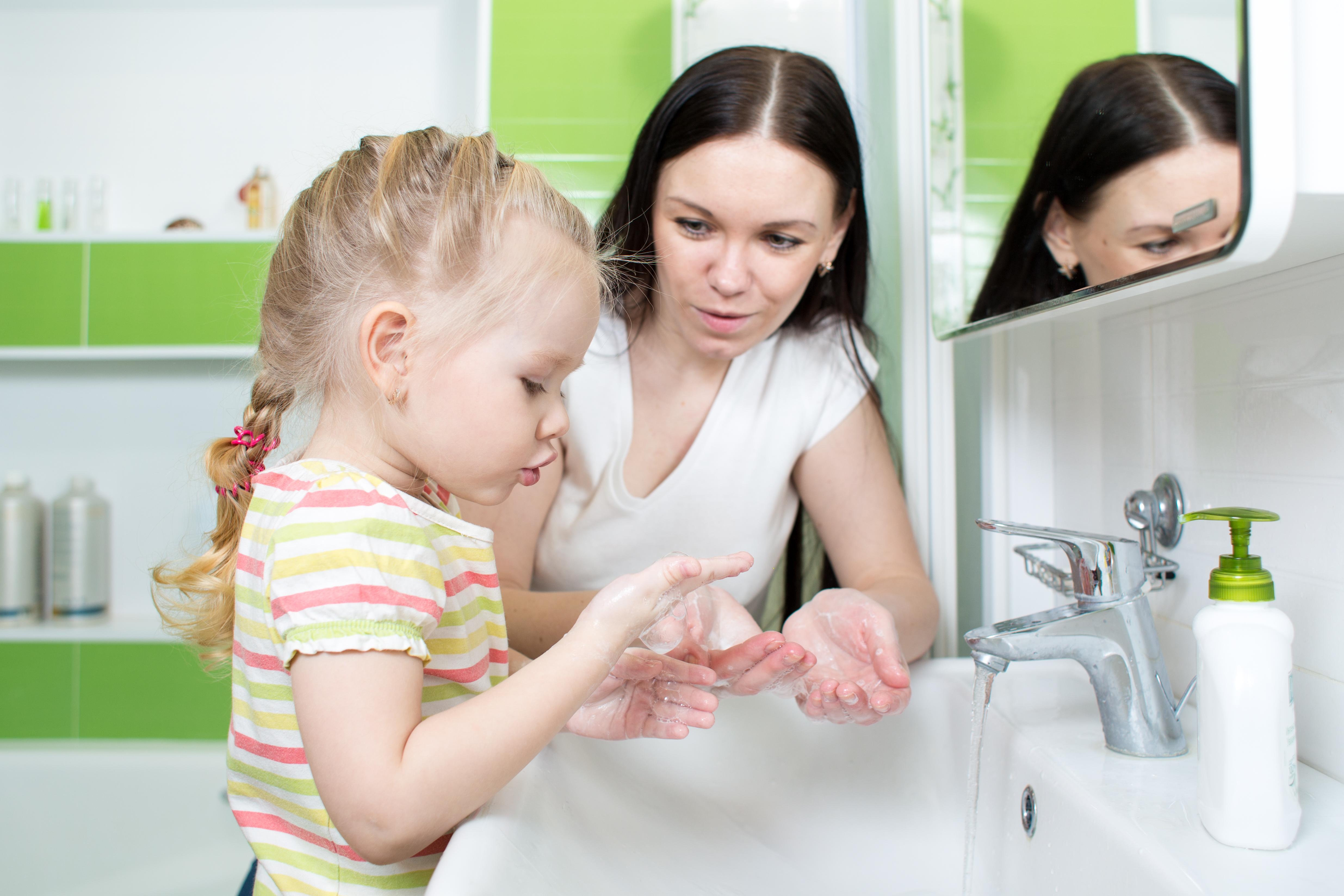 Även om extra hygieninsatser inte påverkade frånvaron är god hygien på förskolan fortsatt viktigt för barnen.