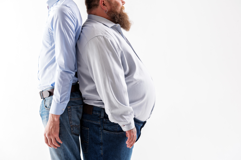Smala personer visade sig överlag ha få så kallade riskgener, men också en del gener som direkt skyddar mot övervikt.