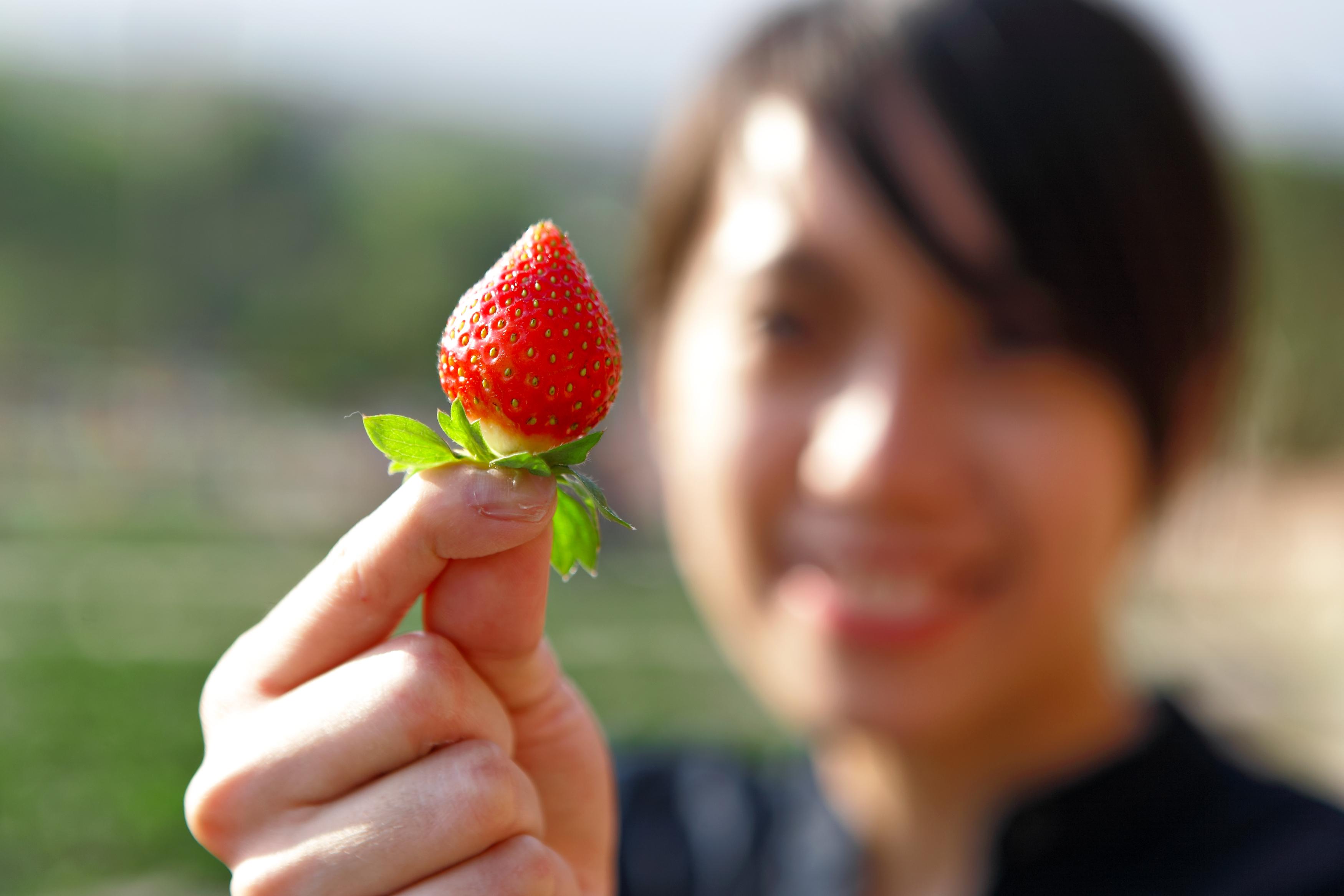 Jordgubbar ökar mättnadskänslan vilket kan motverka övervikt.