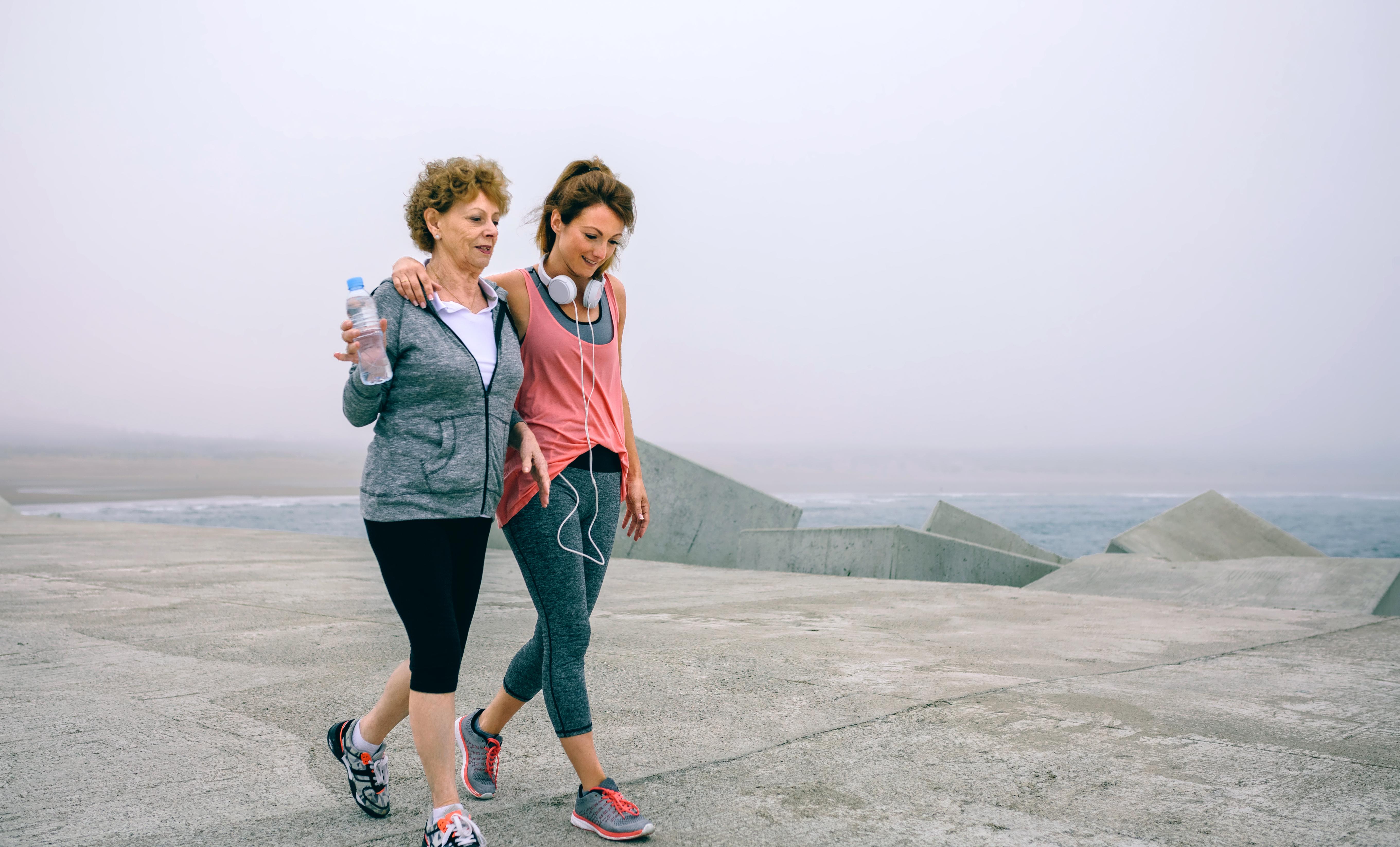 Ett snabtb tempo är när du går och blir andfådd och svettig menar forskarna bakom studien.