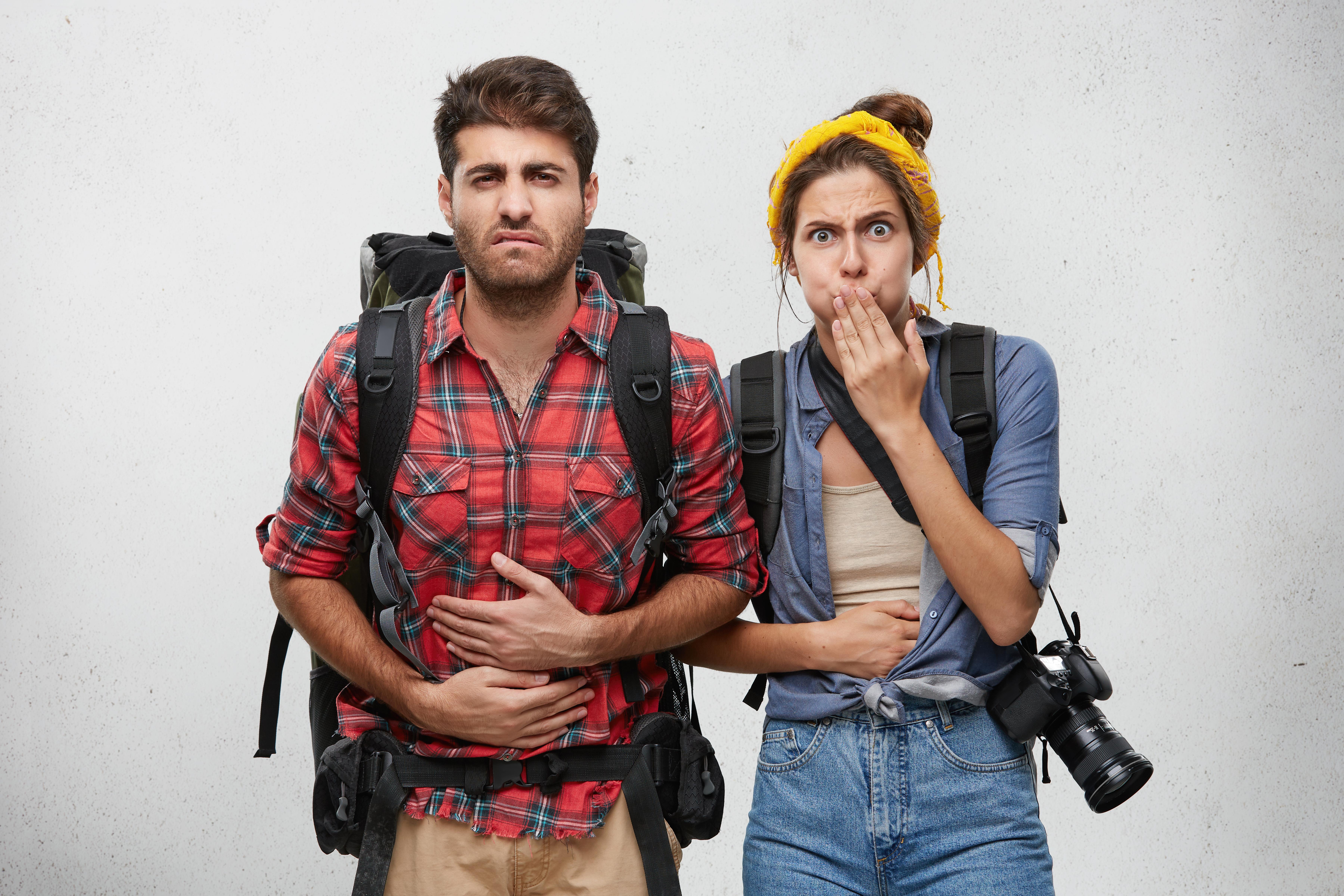 Magproblem under semesterresan är vanligare bland de som är yngre än de äldre.