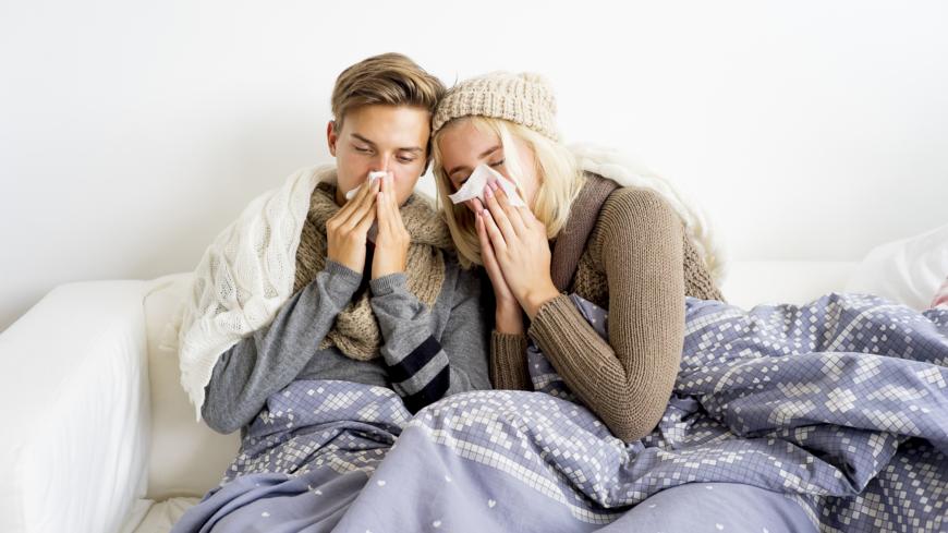 bli av med förkylning