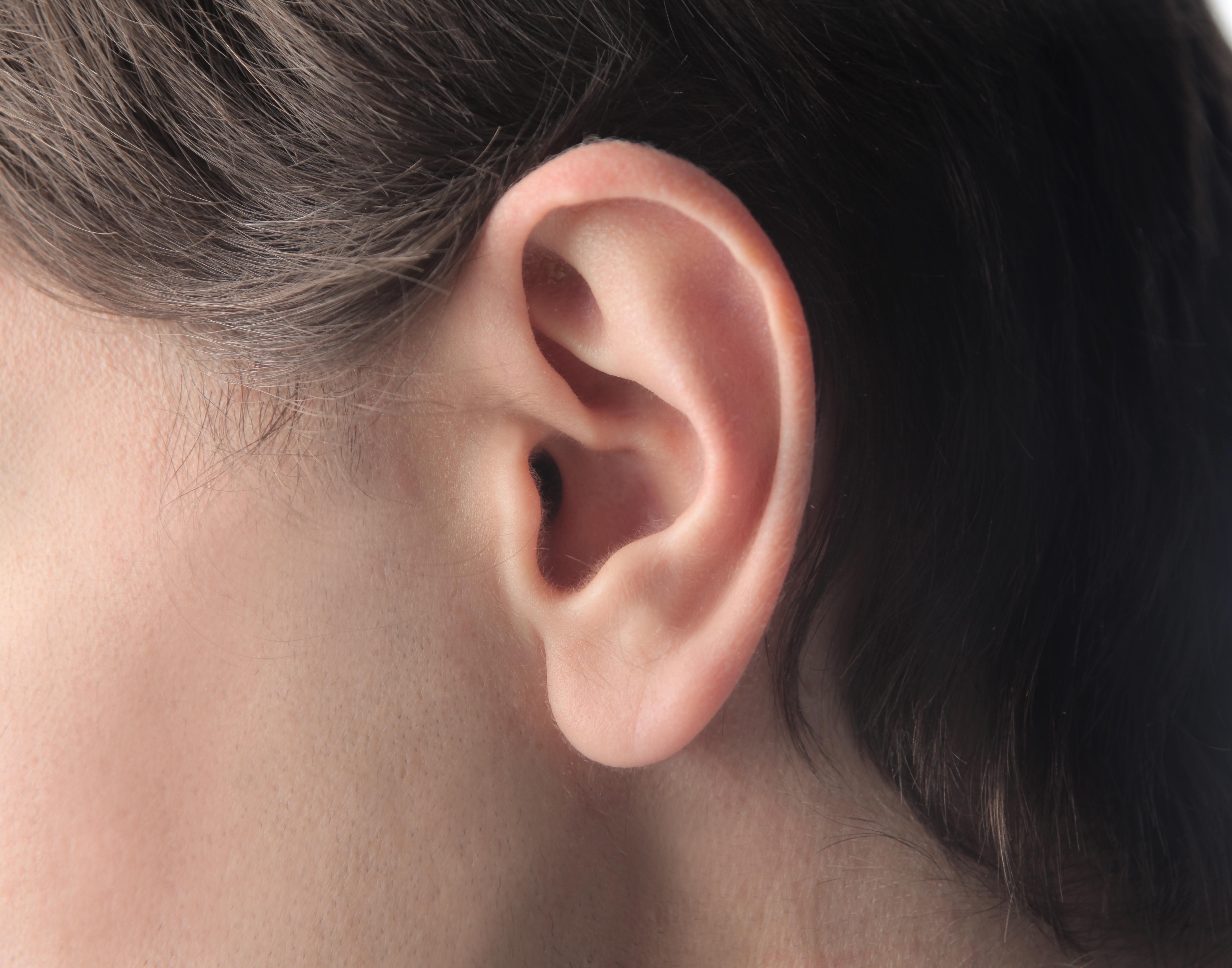 ont i ett öra