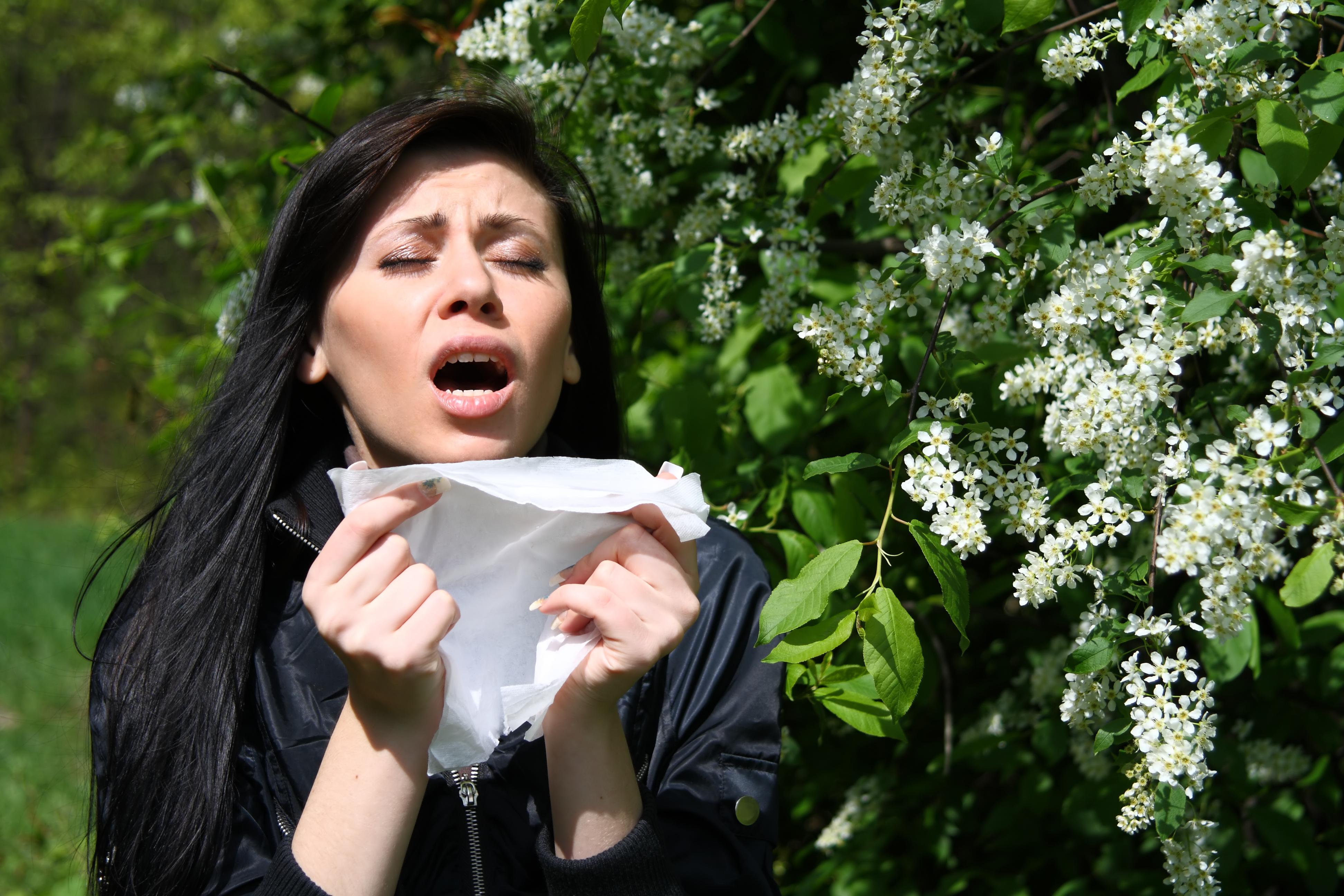Vid nysning blåser du snabbt ut luft ur mun och näsa.