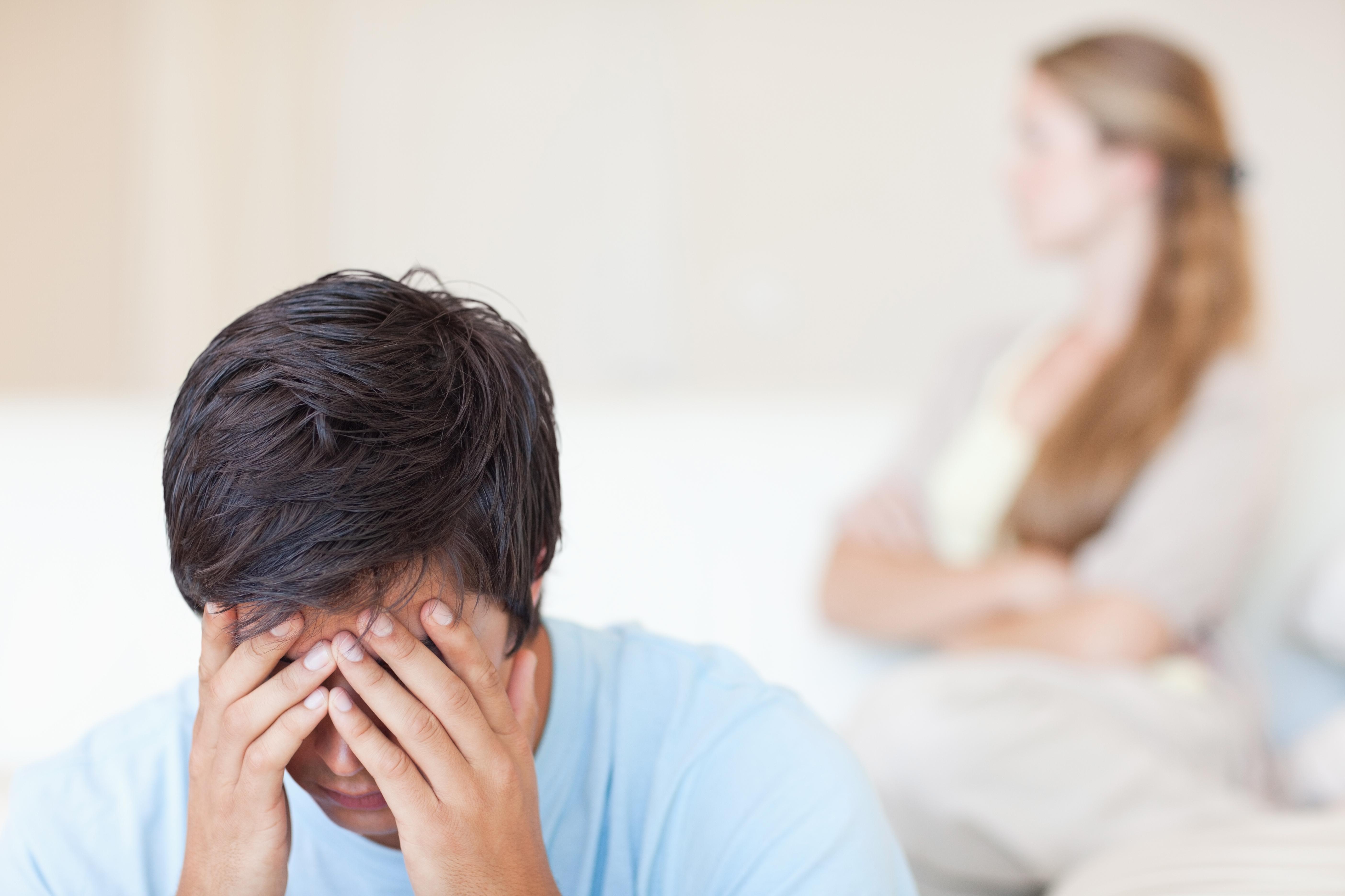 Orsaker till impotens kan vara stress, prestationsångest och oro.