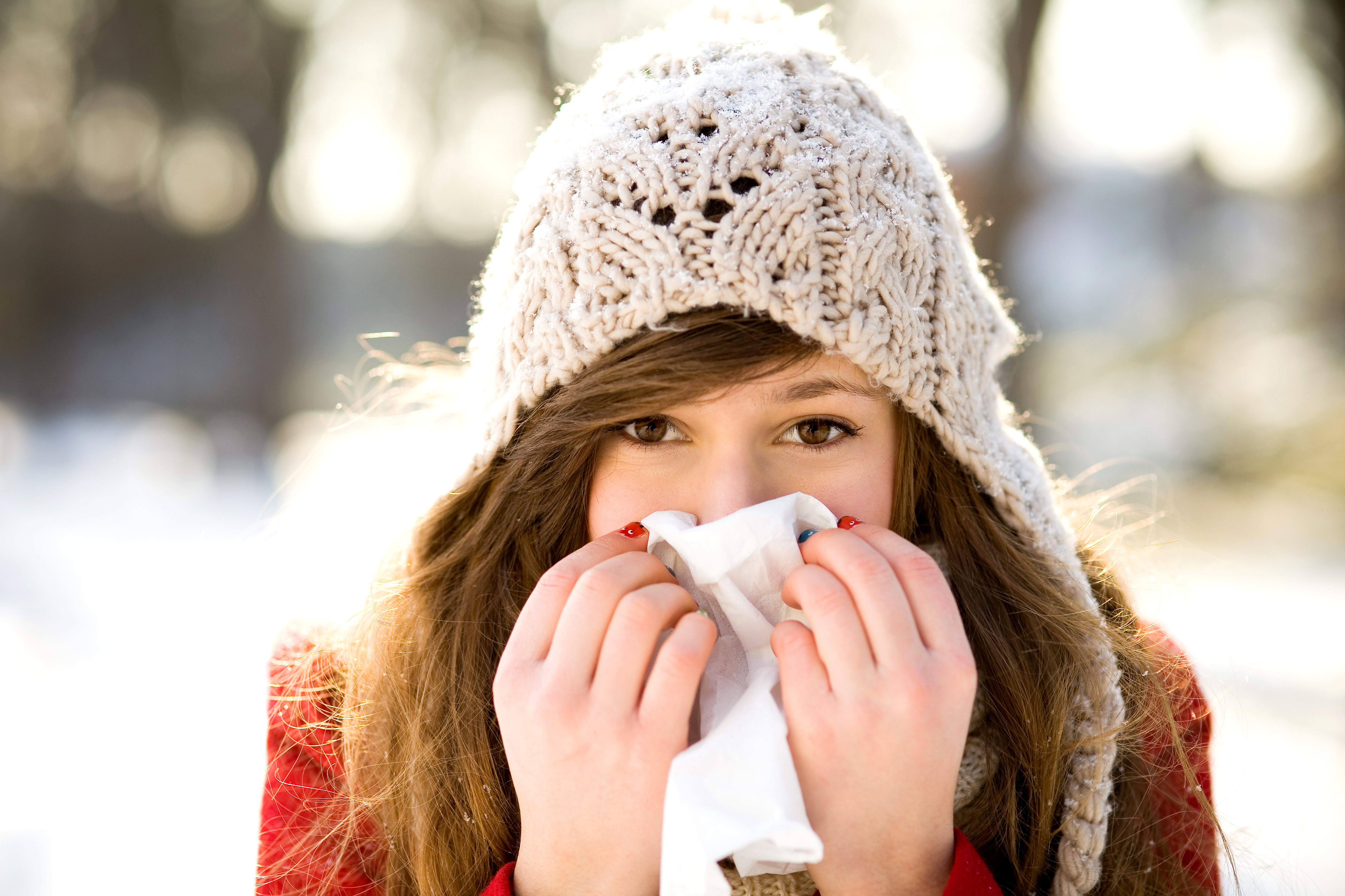 blir man förkyld av att vara kall