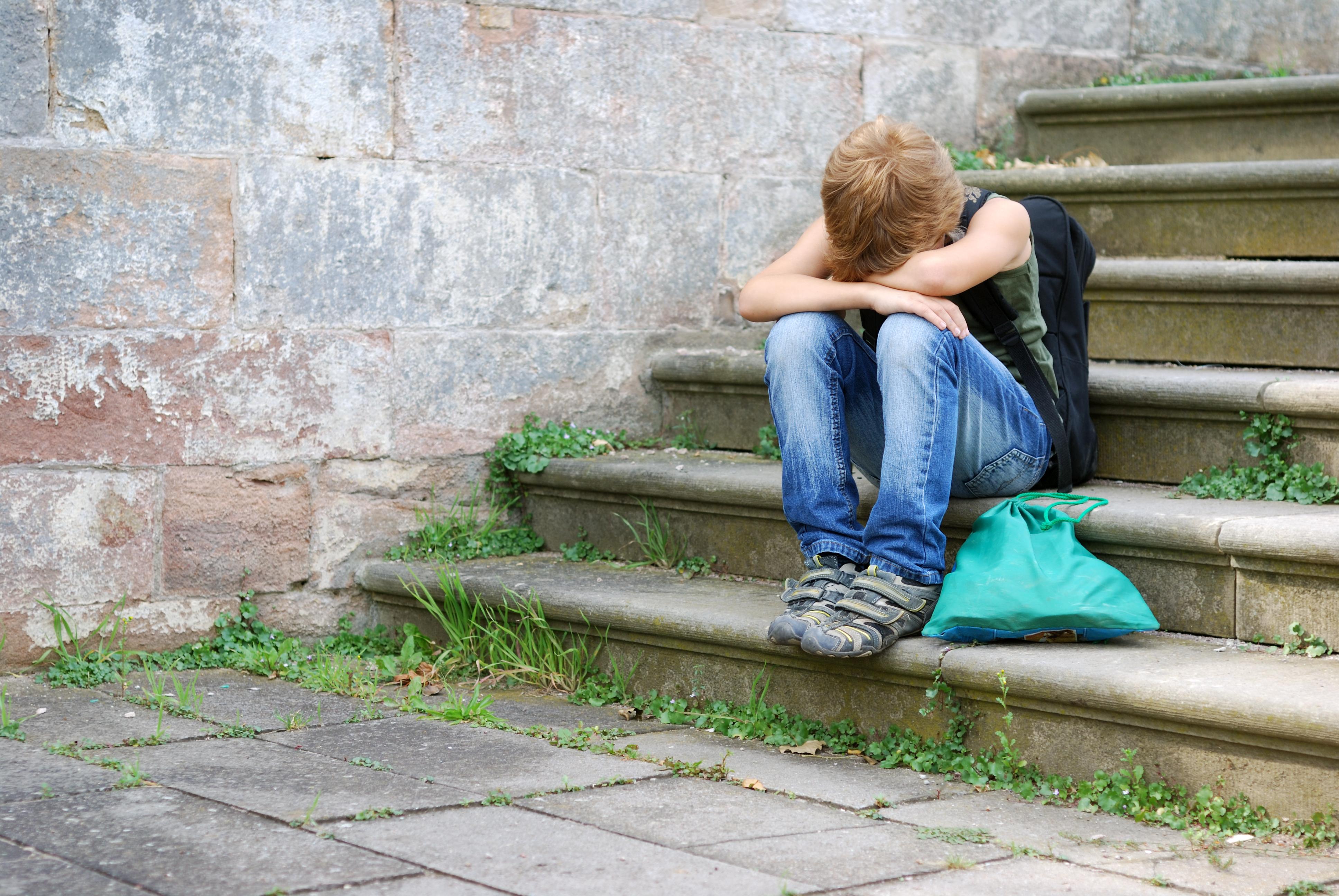 Det vanligaste självskadebeteendet hos barnen var att de antingen skar sig eller slog sig.
