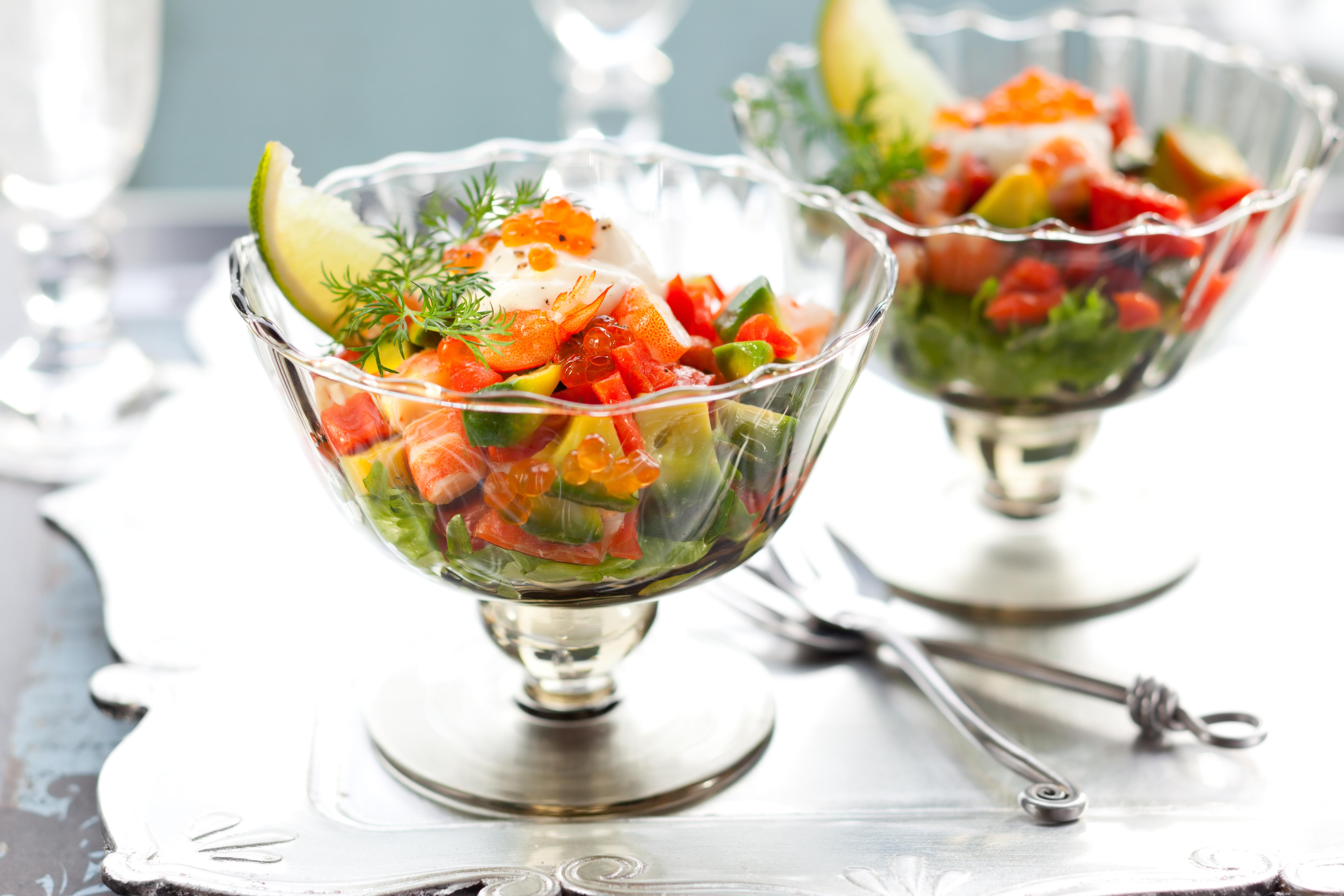 shutterstock_98020370 mat recept matrecept nyår förrätt skaldjur avokado veckans recept förrätt.jpg
