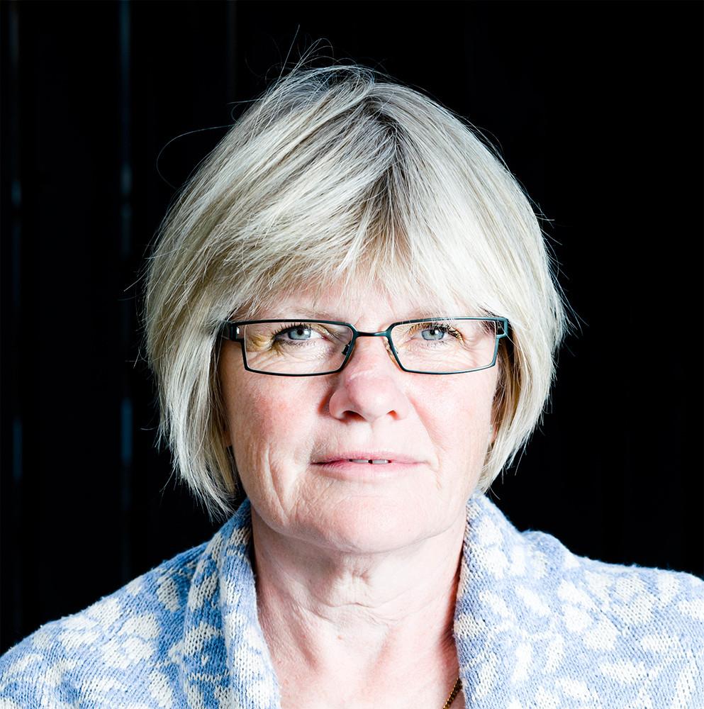 Elisabeth Wallenius, före detta ordförande och numera ledamot i styrelsen för Riksförbundet för sällsynta diagnoser.