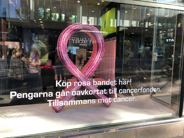 Sedan starten 2003 har Cancerfondens Rosa Bandet-kampanj samlat in 937 miljoner kronor till svensk cancerforskning.